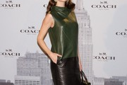 Eugenia Silva Leather Dress