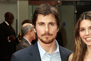 Christian Bale Short Side Part