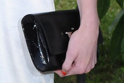 Jade Parfitt Patent Leather Clutch