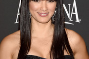 Kelly Hu Long Straight Cut with Bangs