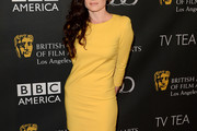 Lara Pulver Mini Dress