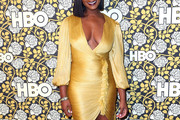 Tika Sumpter Form-Fitting Dress
