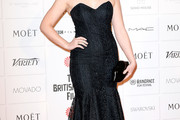 Alexandra Roach Strapless Dress