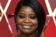 Octavia Spencer Graduated Bob