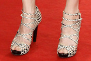 Charlotte Gainsbourg Strappy Sandals