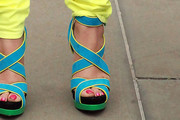 Erica Atkins-Campbell Strappy Sandals