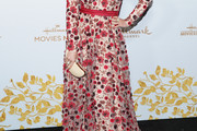 Jodie Sweetin Embroidered Dress