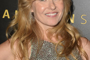 Connie Britton Long Wavy Cut with Bangs