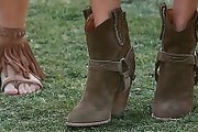 Alessandra Ambrosio Ankle boots