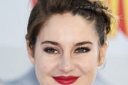 Shailene Woodley Braided Updo