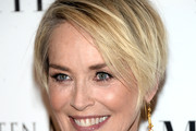 Sharon Stone Layered Razor Cut