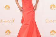 Lisa Rinna Strapless Dress