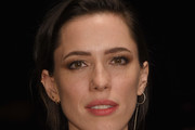 Rebecca Hall Side Parted Straight Cut