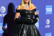 Suzanne Somers Leather Dress