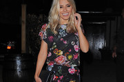 Mollie King Print Blouse
