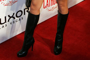Sunny Leone Knee High Boots