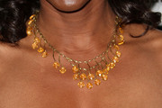 Nicki Micheaux Gemstone Chandelier Necklace