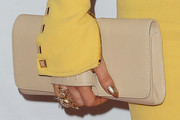 Fergie Leather Clutch