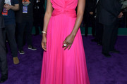Danai Gurira Off-the-Shoulder Dress