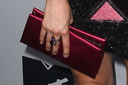 Shelley Hennig Satin Clutch