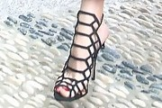 Olivia Palermo Strappy Sandals