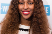 Alexandra Burke Long Curls