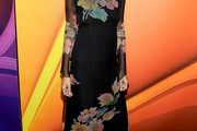 Nicole Richie Print Dress