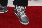 Robert Kardashian Jr. Leather Sneakers