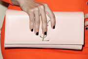 Mayra Veronica Leather Clutch