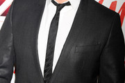 Michael Buble Narrow Solid Tie