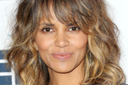 Halle Berry Medium Curls with Bangs