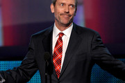 Hugh Laurie Plaid Tie