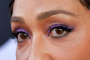 Ruth Negga  Jewel Tone Eyeshadow