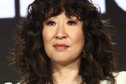 Sandra Oh Medium Curls with Bangs