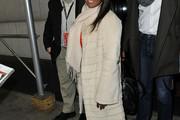 Keshia Knight Pulliam Fur Coat