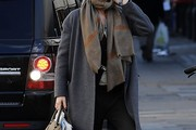 Eva Herzigova Wool Coat