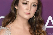 Billie Lourd Long Wavy Cut
