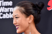 Michelle Wie Twisted Bun