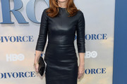 Dana Delany Leather Dress