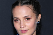 Alicia Vikander French Braid