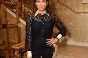 Karla Souza Fitted Blouse