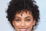 Logan Browning Short Curls