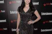 Laura Prepon Beaded Dress