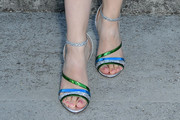 Cailee Spaeny Strappy Sandals