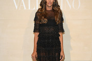 Izabel Goulart Sheer Dress