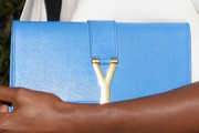 Lisa Leslie Leather Clutch