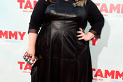 Melissa McCarthy Leather Dress