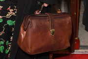 Helena Bonham Carter Leather Tote