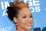 Demetria McKinney Pinned Up Ringlets