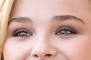 Chloe Grace Moretz Neutral Eyeshadow